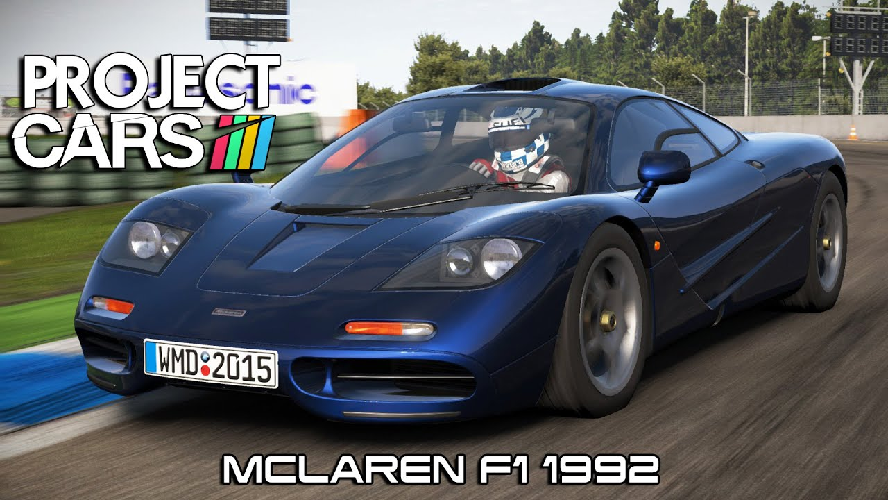 Project Cars Mclaren F1 1992 Hockenheim Youtube