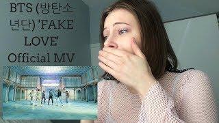 BTS 방탄소년단 'FAKE LOVE' Official MV REACTION