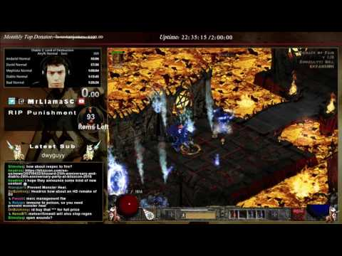 Diablo 2 - UBERS! First attempts (Sorc)