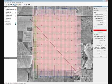 UAV Flight Planning software - AI-manager