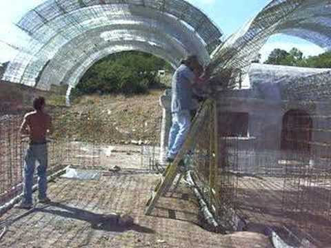 Parabolic Stress Skin Roof Panel Youtube