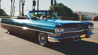 homepage tile video photo for '64 Cadillac DeVille by Beto Mendoza   LOWRIDER Roll Models Season 5 Episode 10   MotorTrend
