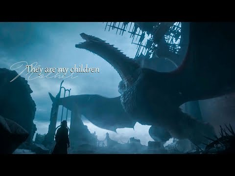 A mother and her Children - Daenerys x Drogon x Rhaegal x Viserion