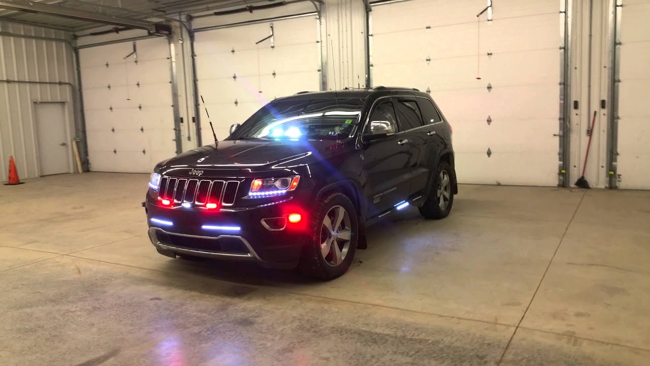 Pov Emergency Led Lights 2014 Jeep Grand Cherokee Youtube