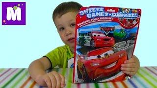 Тачки Дисней пакет с сюрпризом игрой распаковка Disney Cars unboxing blind bag surprise toy