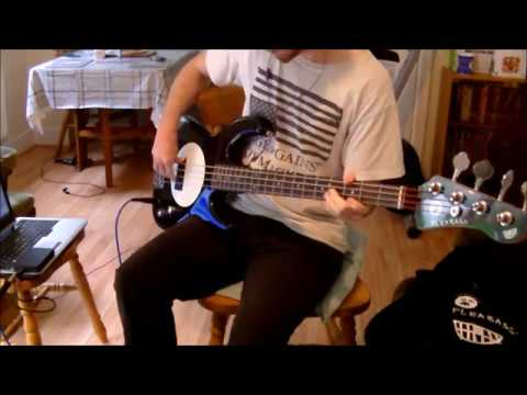 Cake -  I Will Survive [Radio Edit] (Bass Cover)