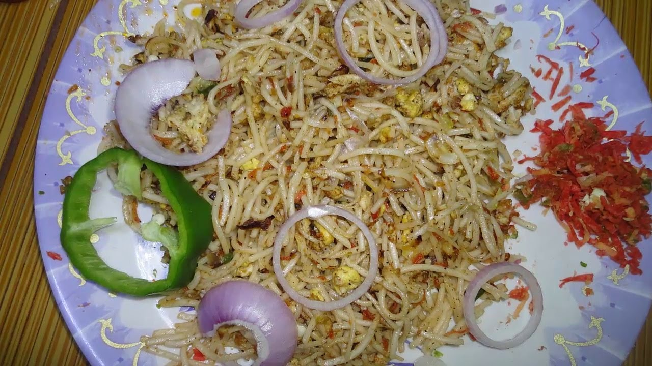 How To Make Spicy Masala Egg Noodles :: By Attamma Tv ::