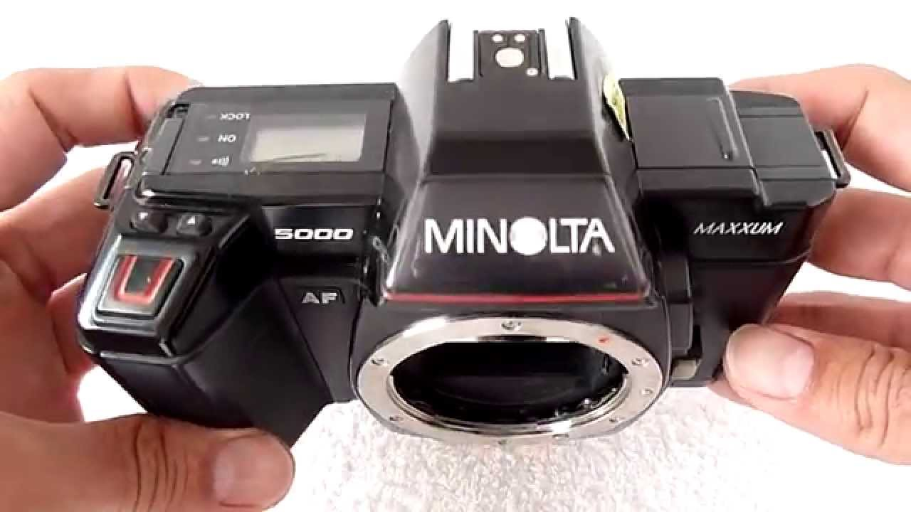 35mm Minolta 5000 AF SLR Camera | eBay