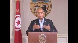 في كلمة رئيس الجمهورية للشعب التونسي: الوحدة الوطنية خط أحمر