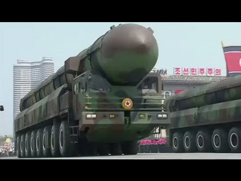 Pyongyang Parade: North Korea displays new ICBMs & submarine-based missiles