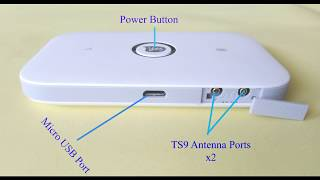 Huawei E5573 Optus 4G Wifi Modem | Unboxing & Specification