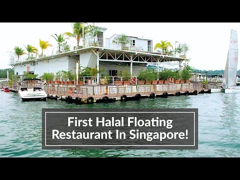 First Halal Floating Restaurant In Singapore
