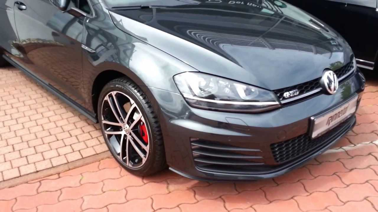 Golf 7 Gtd Carbon Steel Grey Youtube