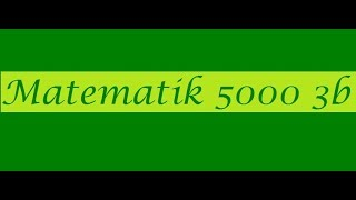Matematik 5000 Ma 3b  Ma 3bc VUX Kapitel 3 Kurvor derivator integraler Största o minsta värde 3143