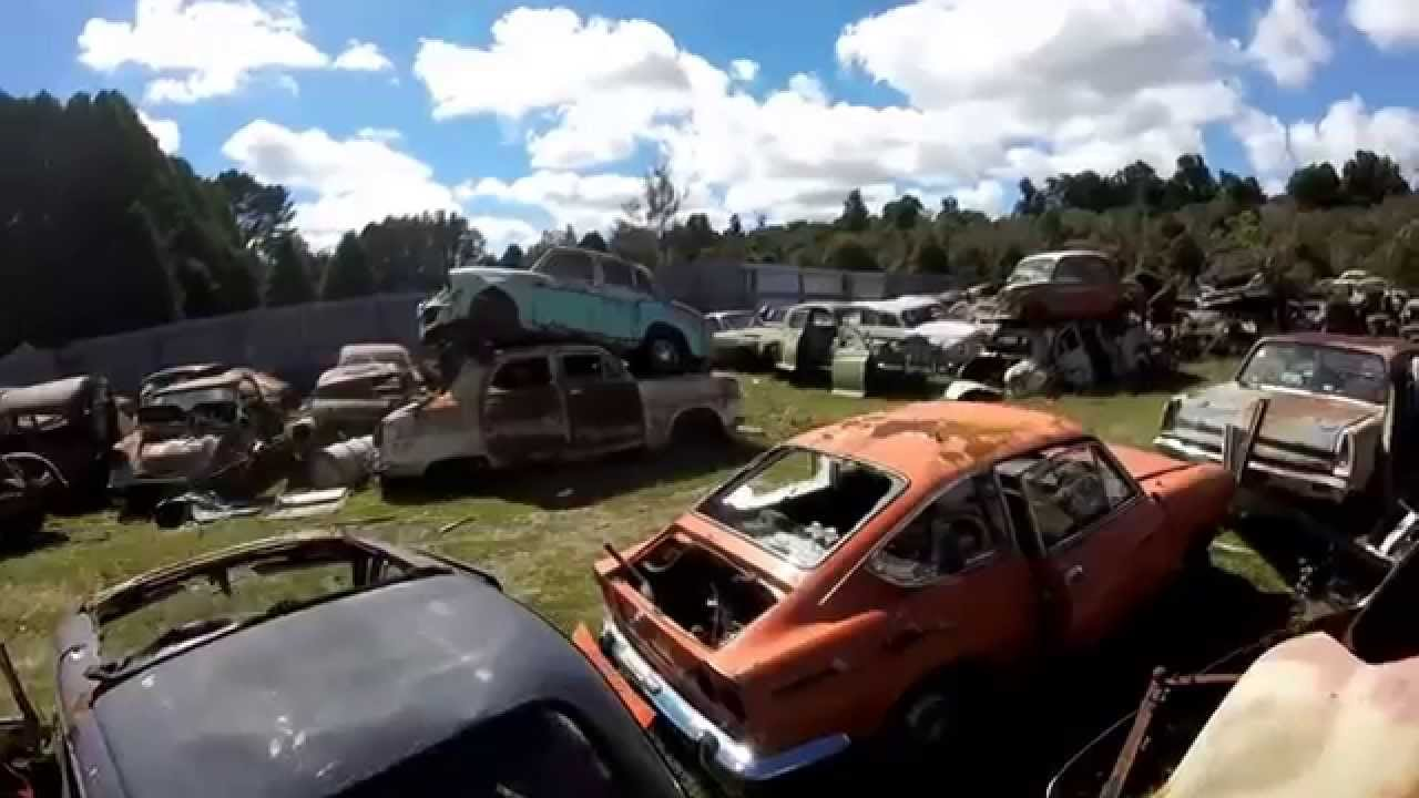 Incredible Wrecking Yard FULL Of Rare Cars