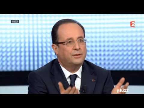 28/03/13 : F2, François Hollande, l'interview de la honte