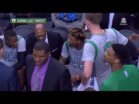 Marcus Smart SCREAMS At Coach On The Bench During Celtics vs Wizards