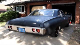 68 Biscayne with Walker mufflers