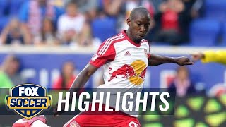 Bradley Wright-Phillips gives NY Red Bulls lead against NYCFC - 2015 MLS Highlights
