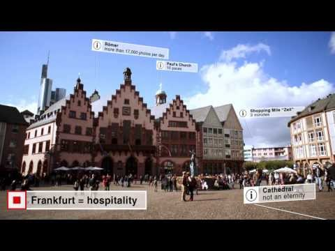 Frankfurt, Germany - The perfect place for more than 700,000 persons