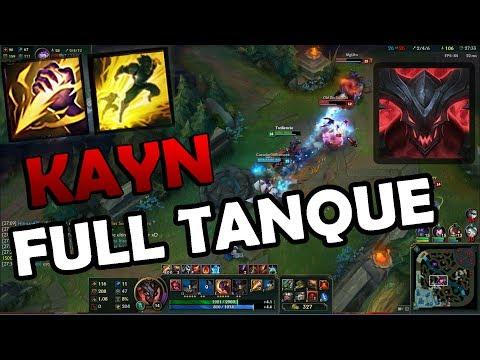 KAYN FULL TANQUE - SUSTAIN INFINITO - GAMEPLAY League of Legends by Chubacan