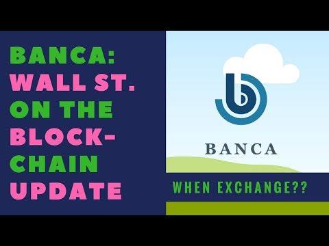 BANCA (BANCA) COIN NEW EXCHANGE SOON!!