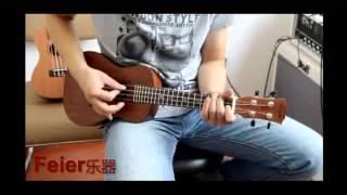kaka ukulele 4 String Rosewood Fingerboard Acoustic Small Guitar--feier music
