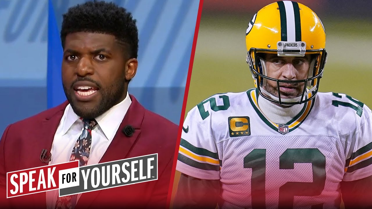 Aaron Rodgers should want out of Green Bay — Emmanuel Acho | NFL | SPEAK FOR YOURSELF