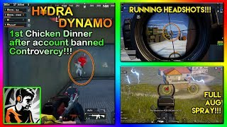 DYNAMO 1st Chicken Dinner after Account Banned CONTROVERCY || Highlight#21