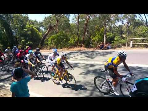 2016 Herald Sun Tour Stage 4 final climb