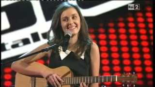 Silvia Caracristi Lovesong - The Voice of Italy - Blind Audition