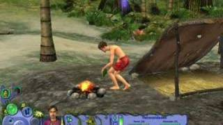 Playing The Sims Castaway (Historias de Naufragos)