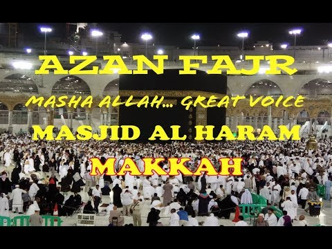 Netes Air Mata! Syahdunya Adzan Subuh (Call for Fajr Prayer) di Ka'bah Masjidil Haram