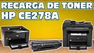 RECARGA │ REFILL DE TONER HP CE278A