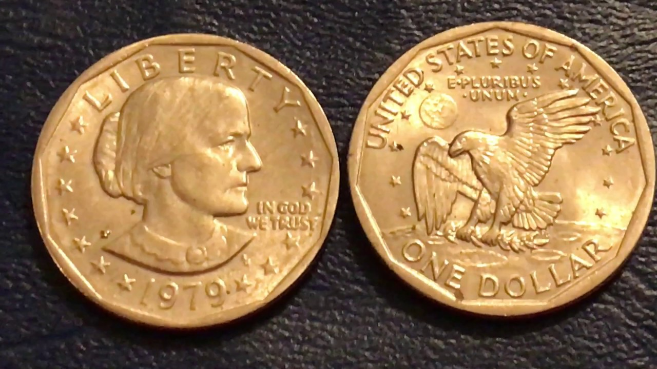 Circulated 1999 Susan B Anthony Dollar