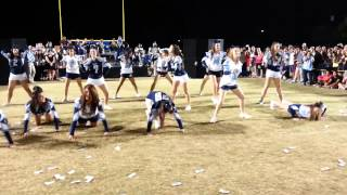BHS 2013 Homecoming Cheer/Football Players