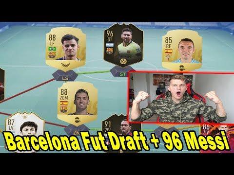 Fifa 19: Krankes Barcelona Fut Draft mit 96 IF Messi + neuer ICON! - Ultimate Team