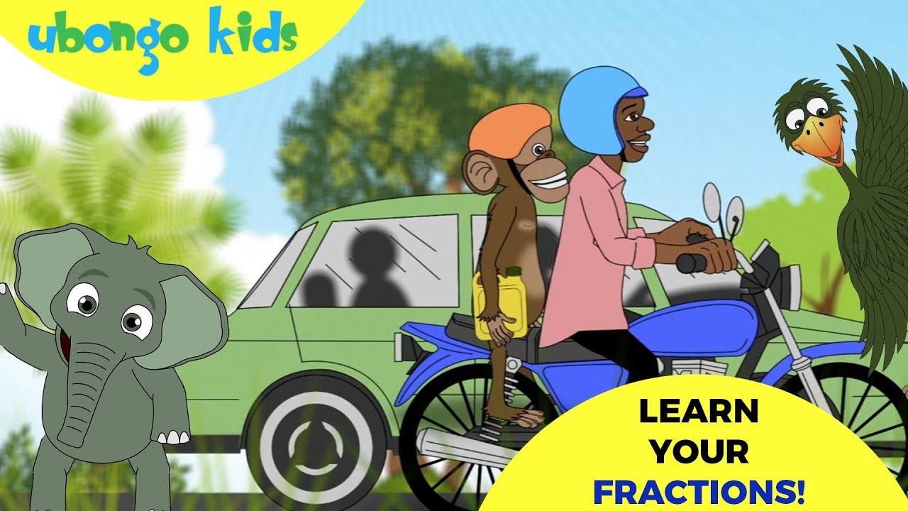 Fractions Are Easy  | Learn Math with Ubongo Kids  | African Cartoons