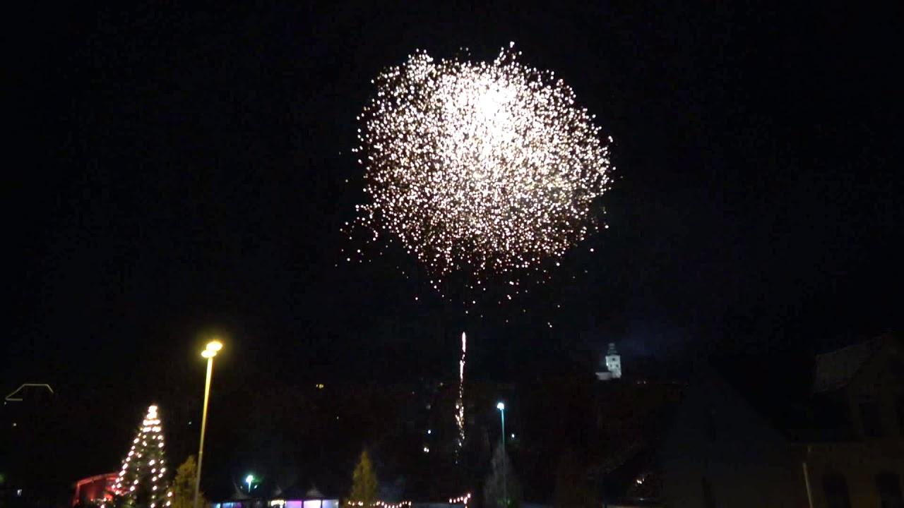 Feuerwerk Weihnachtsmarkt Bad Marienberg 2019 - YouTube