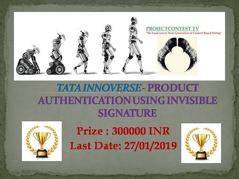 TATA INNOVERSE-Product Authentication Using Invisible Signature
