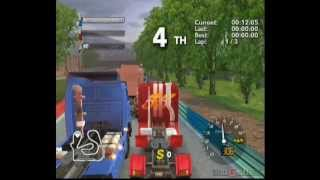 Rig Racer 2 - Gameplay Wii (Original Wii)