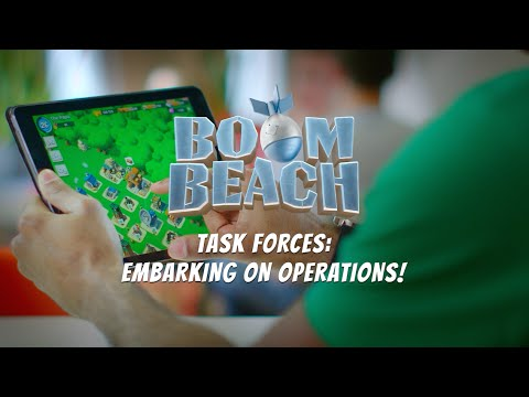 Boom Beach: Embarking on Operations with your Task Force!