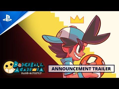 Dodgeball Academia - Announcement Trailer   PS4