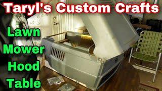 Taryl's Custom Crafts - Hood Table
