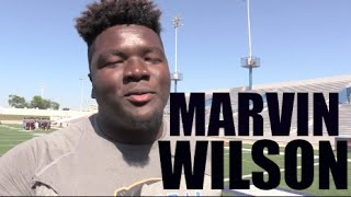 DT || 6'5 315 || Marvin Wilson '17 : Episcopal (Bellaire, TX) TheOpening : Houston Spotlight 2016