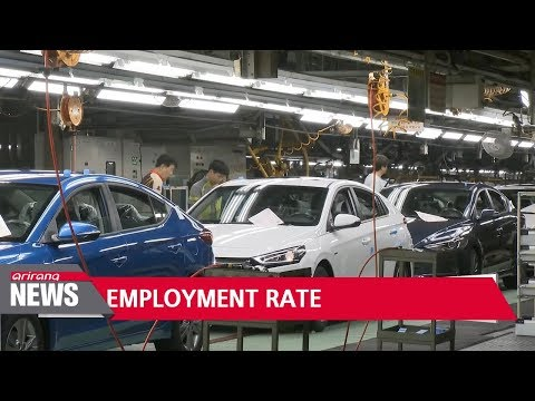 South Korea's employment rate ranks 21st out of 35 OECD countries: Report