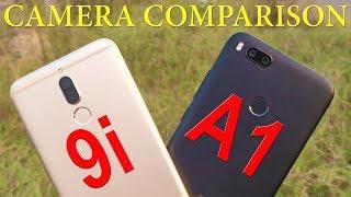 Xiaomi Mi A1 vs Honor 9i Camera Comparison with Sample Photos [Hindi]