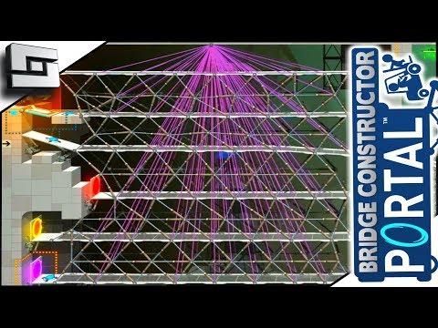 Rage Mode Engage! BRIDGE CONSTRUCTOR PORTAL! Level 57,58,59