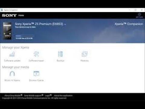 تحميل برنامج xperia companion