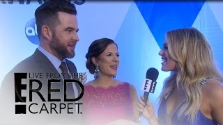 David Nail Is Thrilled for Twins at 2015 CMAs